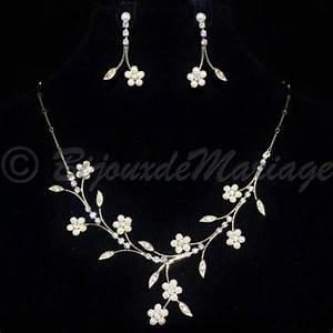quotfleurs de perlesquot parure bijoux With parure bijoux or mariage