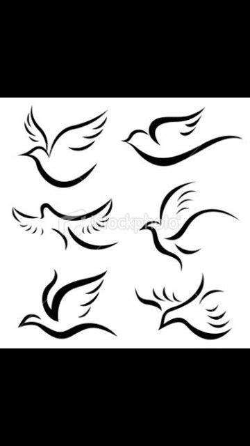 Tattoo idea in memory of my Mom | Aquarius tattoo, Simple bird tattoo, Dove tattoos