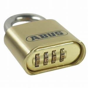 Cadenas à Code : cadenas 180 ib 50 code 4 chiffres anse acier inox abus ~ Edinachiropracticcenter.com Idées de Décoration