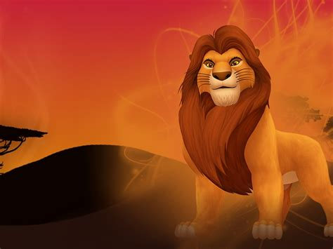 lion king mufasa walt disney wallpaper hd