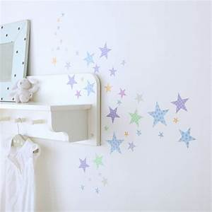 childrens star wall stickers by kidscapes wall stickers With star wall decals