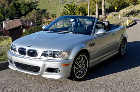 2004 Bmw Convertible by 22k Mile 2004 Bmw M3 Convertible Smg For Sale On Bat