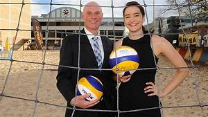 South Australian Olympic volleyballer Becchara Palmer and ...