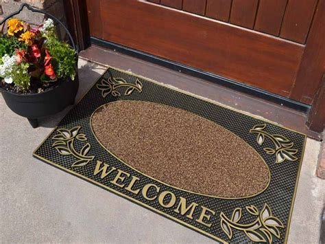 Outside Door Mats For Steps by Non Shedding Scraper Welcome Large Thick Front Step Door