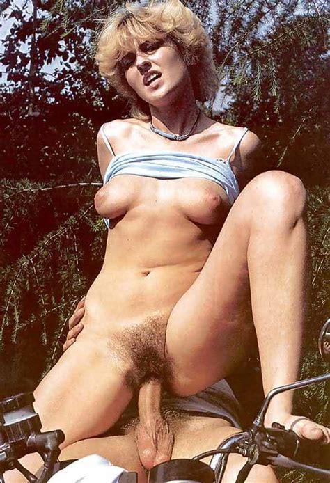 Retro Perversium Naked Girl Having Sex On Motorcycle