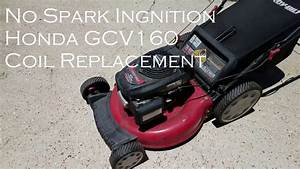 Honda Lawn Mower Engine Gcv160