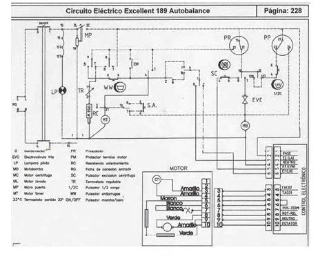 solucionado circuito electrico lavarropa 189 td yoreparo