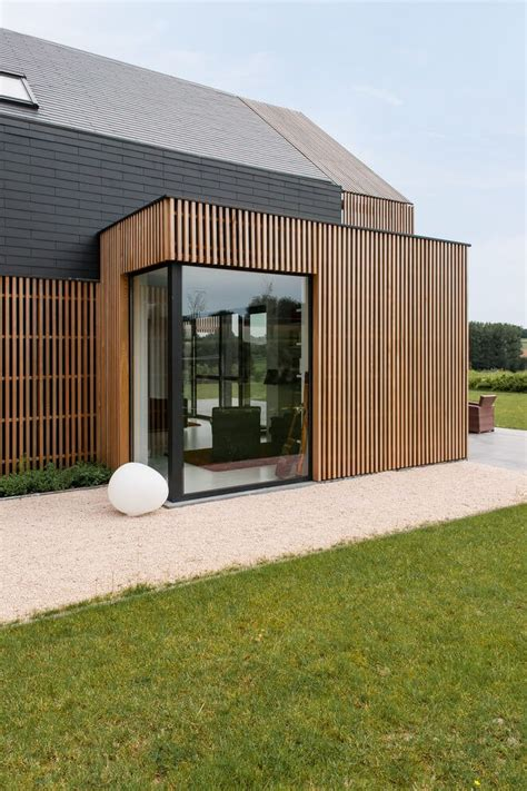 Converted Barn Sited Open Countryside by Nukerke Renovation By Sito Architecten Architecture