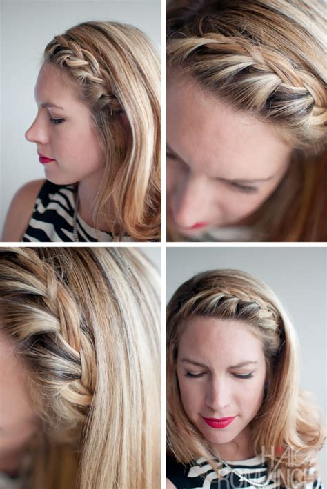 hair inspirations pretty french braided fringe bangs