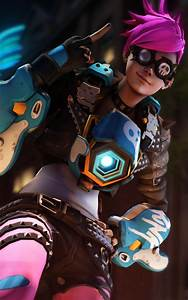 Download Punk Tracer Overwatch Free Pure 4K Ultra HD