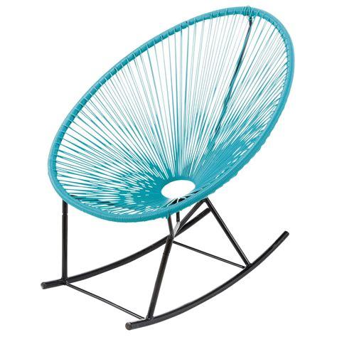 chaise copacabana garden rocking chair turquoise copacabana copacabana