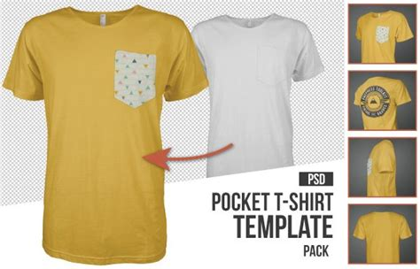 pocket t shirt template 10 must mockup templates for t shirt and apparel design