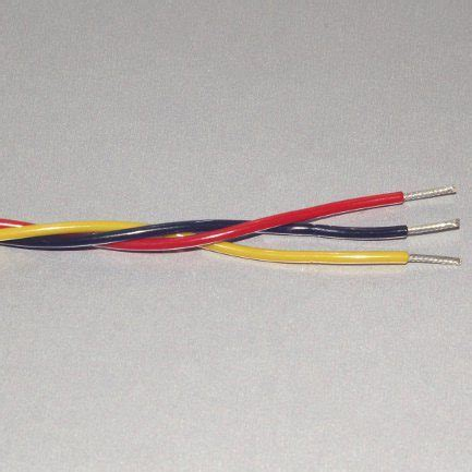 twisted wire 22 ga yellow black steinair inc