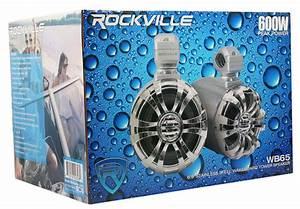 4  Rockville 6 5 U0026quot  Tower Speakers 4