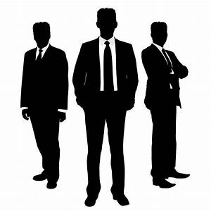 Businessman Silhouette Clip Art (40+)