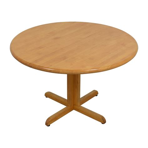 90% Off  Solid Wood Round Table Tables
