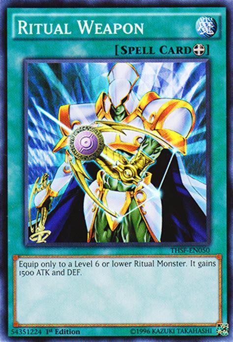 Ritual Weapon Yugioh