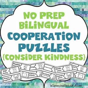 NO PREP Bilingual Cooperation Puzzles -... by Sarah Wu ...