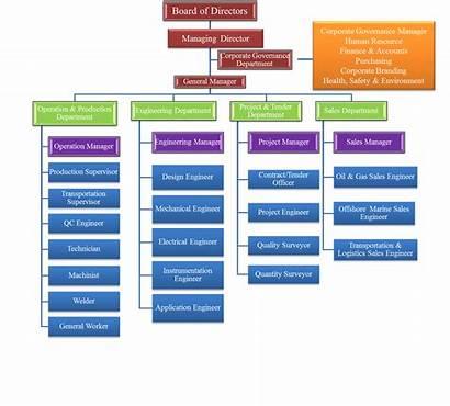 Chart Structure Organizational Schlumberger Singapore Organization Company
