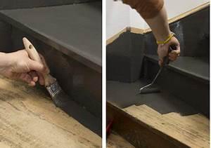 peindre un escalier en bois avec la peinture renovation v33 With commentaire repeindre un escalier en bois 12 couleur pour cheminee