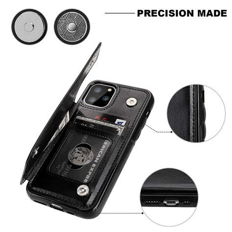 The iphone 11 pro cases will help keep your new, expensive iphone protected. Card Holder Pocket Flip Leather Case Cover for iPhone 11 / 11 Pro / 11 Pro Max | eBay