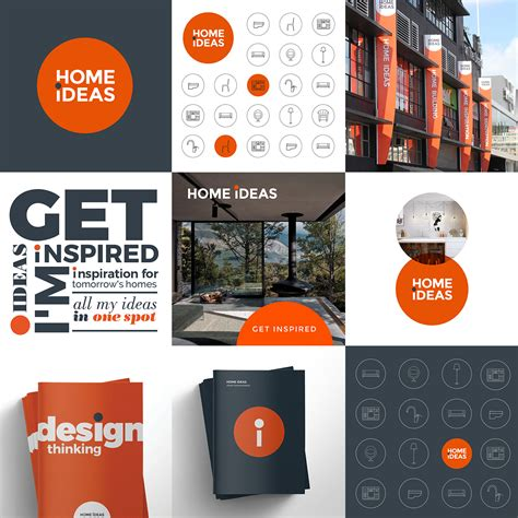 Home Ideas Brand Design  Redfire Design