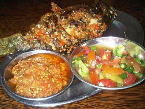 ikan bakar sambal dabu dabu sambal rica rica foodies