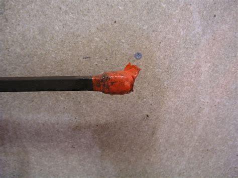electrolysis motorbike rust removal fuel tank electrode