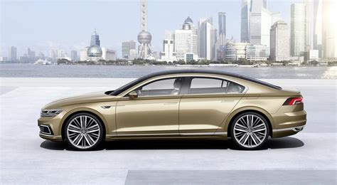 volkswagen coupe vw unveils c coupe gte concept