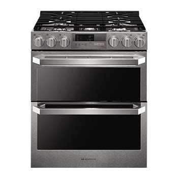 gas cooktop reviews india lg kitchen ranges ovens cook with precision lg usa