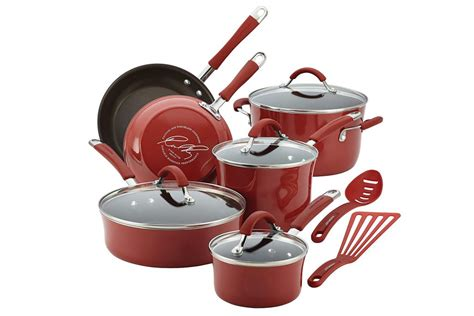 cookware ray rachael porcelain nonstick enamel glass cucina hard stoves stove oven safe features
