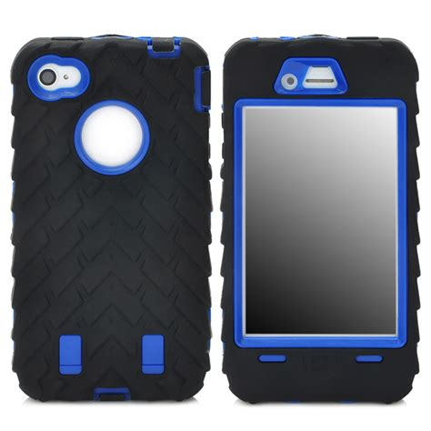 iphone 4s protective 3 in 1 cool protective silicone pc case for iphone 4 Iphon