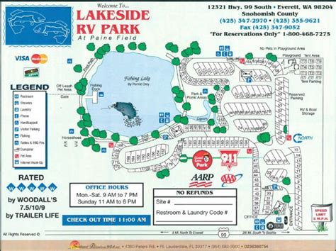 rv park wa map lakeside campground everett roverpass campgrounds maps
