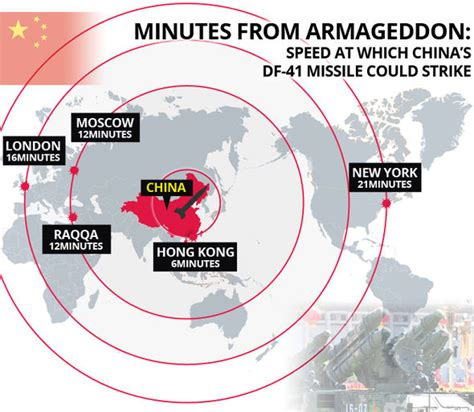 range of nuclear bomb china s veiled threat to usa beijing set to deploy world s range nuclear missile