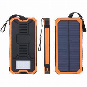 5000mah Solar Power Bank Instructions