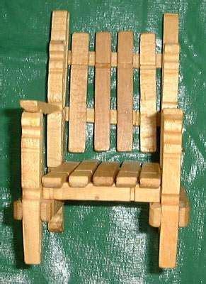 Chaise En Epingle A Linge En Bois by Chaise En Pinces 224 Linge Bricolage Poup 233 Es