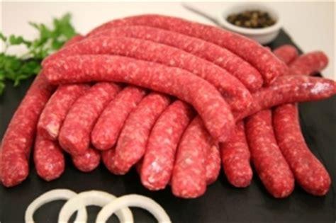 saucisses pur boeuf charolaise 1 kg terre de viande