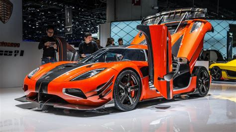 The Koenigsegg Agera Swedish Supercar Is A Completely
