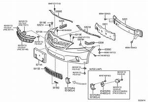 2010 Toyota Camry Absorber  Front Bumper Energy  Absorber