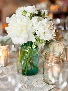 15 mason jar decor centerpiece ideas diy to make With ideas for decorating mason jars for wedding