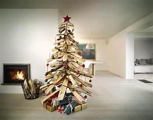 Weihnachtsbaum Selber Bauen : weihnachtsbaum aus holzscheiten diy academy ~ Orissabook.com Haus und Dekorationen
