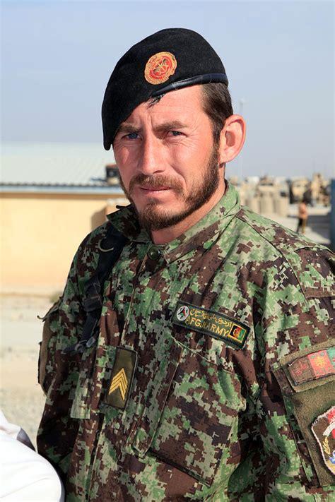 filean afghan national army soldier arrives