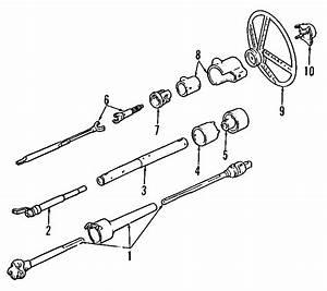 Chevrolet K2500 Suburban Steering Column Cover  Tilt