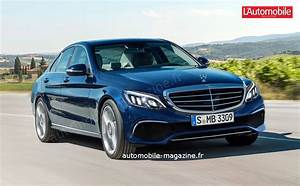 Mercedes Classe C Restylée 2018 : rendez vous au printemps pour la mercedes classe c restyl e l 39 automobile magazine ~ Maxctalentgroup.com Avis de Voitures