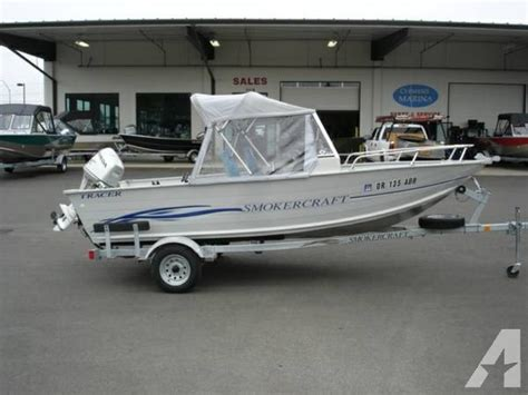 Boat Trailer Parts Eugene Oregon by 2004 Smokercraft 16 Foot Tracer For Sale In Eugene