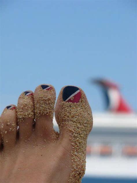 carnival cruise  nail design unique cute carnival