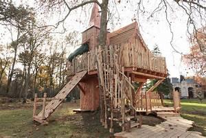 Constructeur Cabane Dans Les Arbres : cabane d 39 enfant de l 39 rable nidperch constructeur de cabane ~ Dallasstarsshop.com Idées de Décoration