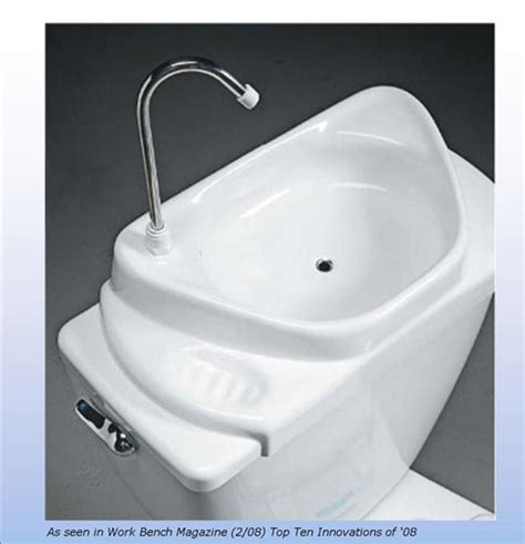 Caroma Toilet With Sink On Top by Sink Positive Insideflows