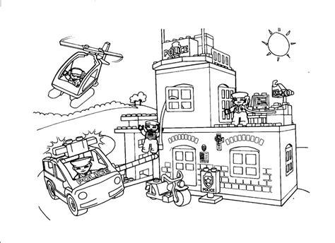 Kleurplaat Playmobil Prinses by Politie Kleurplaat Playmobil Kleurplaat Lego Duplo