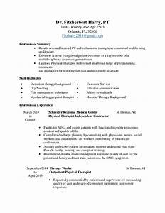 physical therapy resume With physical therapists resume search